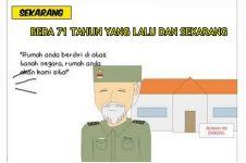 8 Meme beda kondisi dulu dan setelah 71 tahun Indonesia merdeka