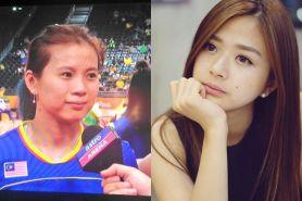 Meski kalah, kecantikan pemain Malaysia ini bikin leleh pria Indonesia