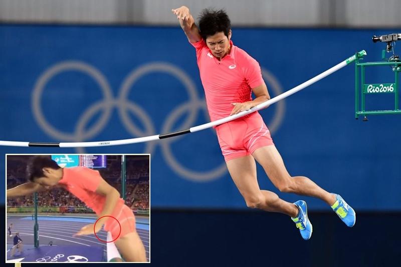 Penyebab atlet lompat galah Jepang gagal di Olimpiade ini miris banget