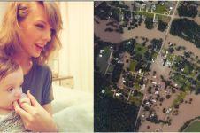 Taylor Swift sumbang Rp 13 miliar untuk korban banjir, dermawan ya