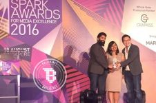 Brilio raih 2 penghargaan Spark Awards, terbaik di Asia Tenggara