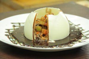 Ini resep Mix Fruit Chocolate Balloon, camilan sehat nggak bikin gemuk