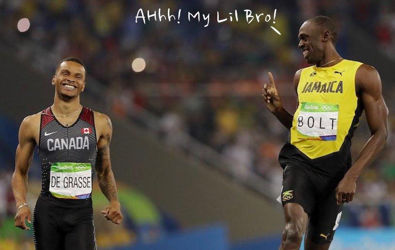 13 Editan foto senyum Usain Bolt ini kocak, bikin cekikikan ya