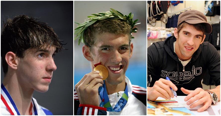 18 Transformasi Phelps, 'raja' medali emas sepanjang sejarah Olimpiade