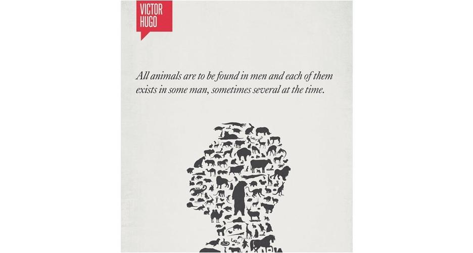 13 Poster minimalis quote tokoh ternama ini mak jleb banget