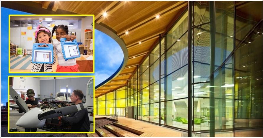 11 Sekolah ini punya konsep pendidikan dan bangunan tak biasa, top!