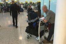 Mantan bodyguard Beckham ini 3 minggu tinggal di bandara, kenapa ya?