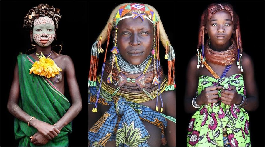 15 Potret keragaman bangsa Afrika, eksotis banget  nih