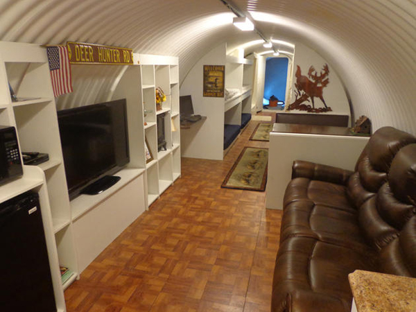 Perusahaan ini jual bunker bawah tanah dengan fasilitas hotel bintang