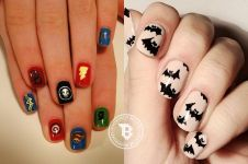 15 Nail art keren bertema Superhero, favoritmu yang mana?