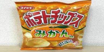 Keripik kentang ini diracik pakai bumbu khusus, rasanya jeruk mandarin