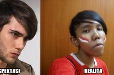 Ekspektasi vs realita 12 potongan rambut cowok ini bikin ngakak!