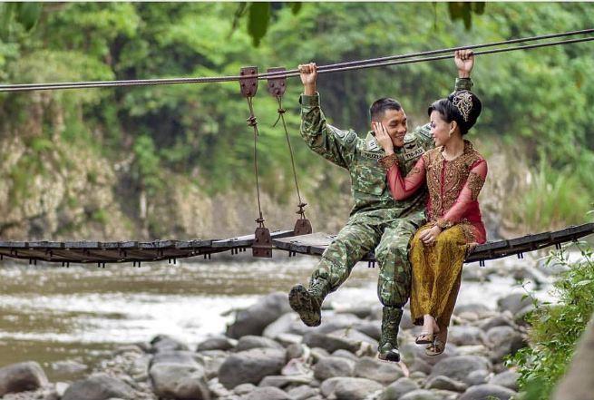 12 Foto Prewedding Pasangan Ini Romantis Abis Tak Mahal Tapi Ker