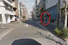 Google street view tak sengaja rekam pemandangan aneh ini di Jepang