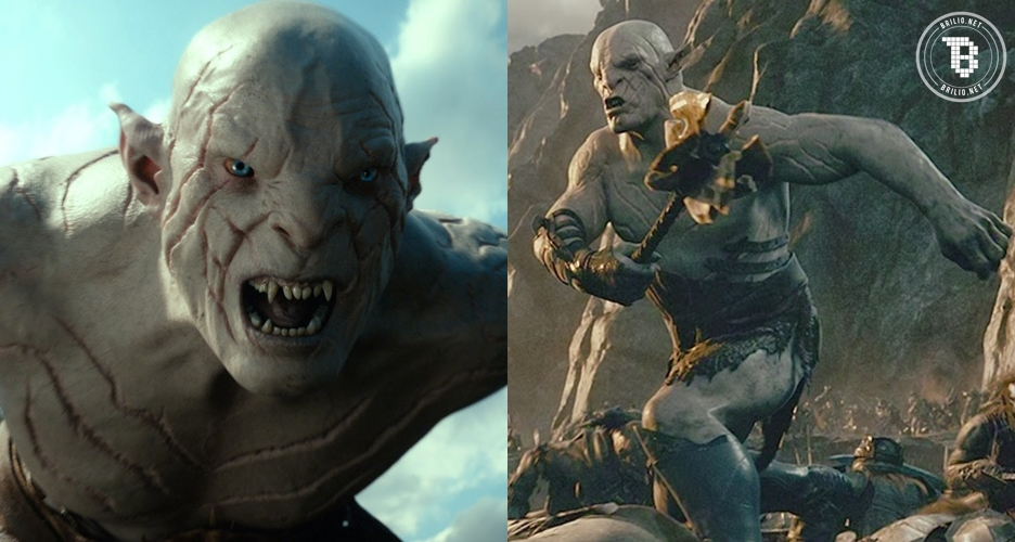 Ingat Azog si jahat di The Hobbit? Pemeran aslinya hot papa banget
