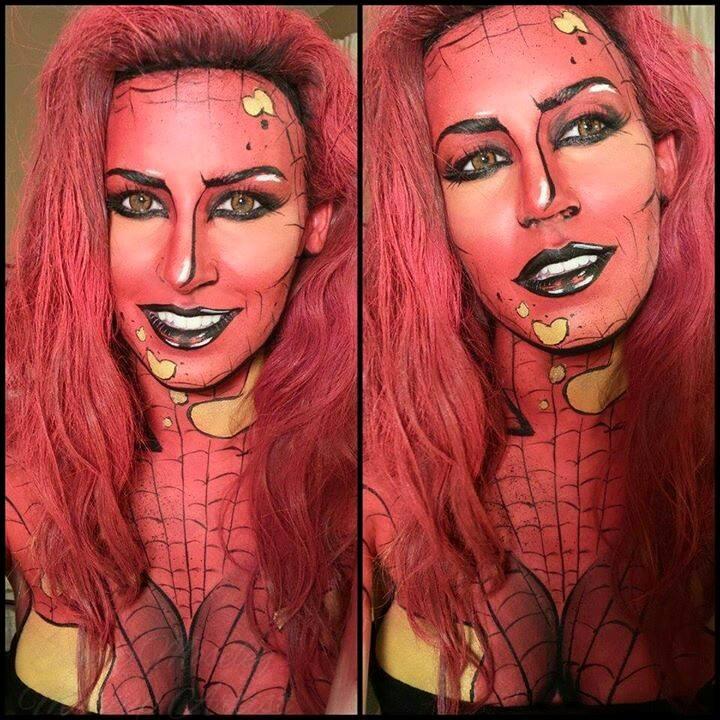 25 Foto keajaiban makeup bikin wajah persis tokoh komik