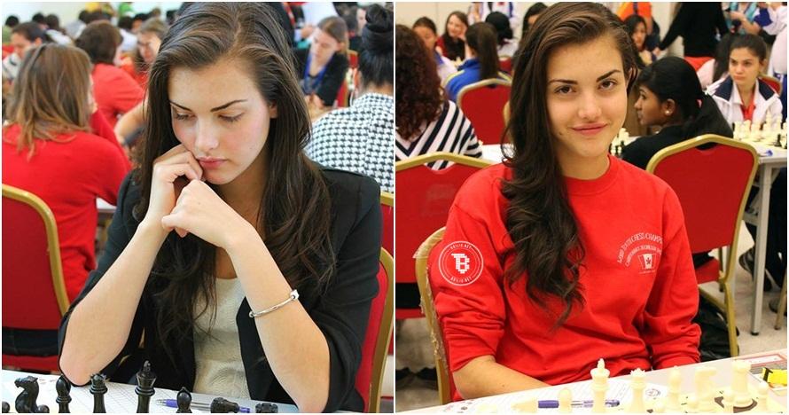 Alexandra Botez, pemain catur usia 20 tahun yang seksi dan cantik abis