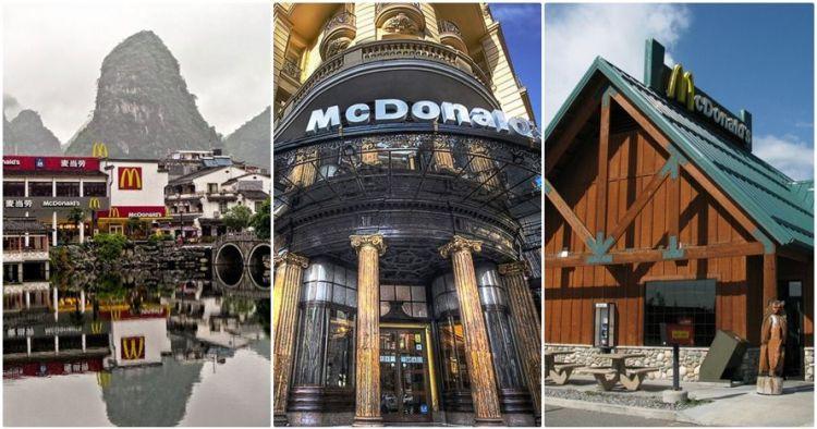 25 Desain restoran McD di berbagai negara, dari klasik sampai di kapal