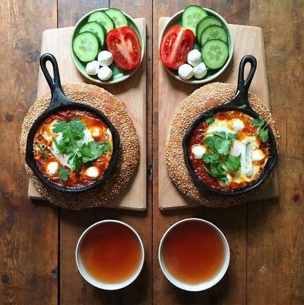 makanan ini disajikan secara simetris © 2016 brilio.net