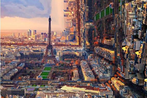 15 Gambar ini tunjukkan wujud bumi kalau bentuknya kotak, waduh..