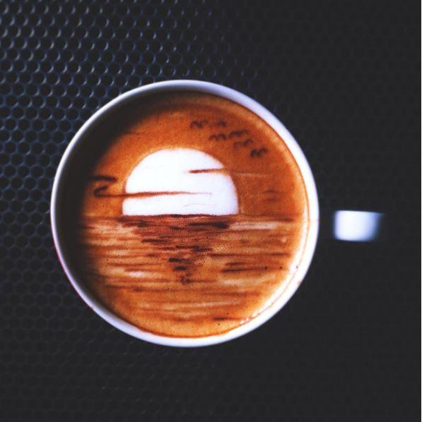 karya latte art pria asal bandung ini keren © 2016 brilio.net