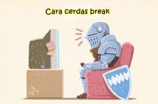 10 Tips break santai yang bikin lo makin cerdas