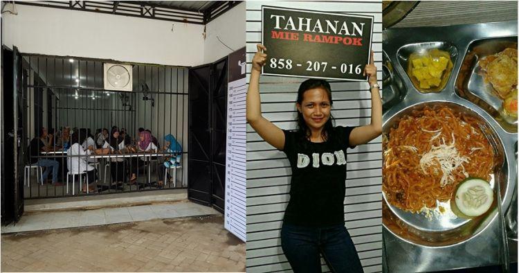 Mi Rampok, warung konsep penjara yang tangkap banyak 'tahanan'