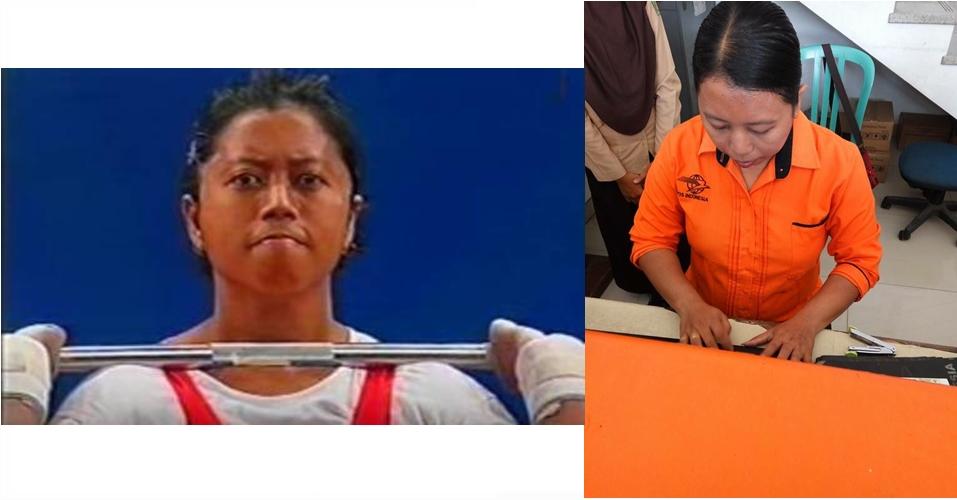 Sri Indriani,  si jawara Olimpiade 2000 kini jadi pegawai kantor pos