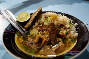 Soto dok khas Jombang, makanan unik yang bikin kamu terkejut-kejut