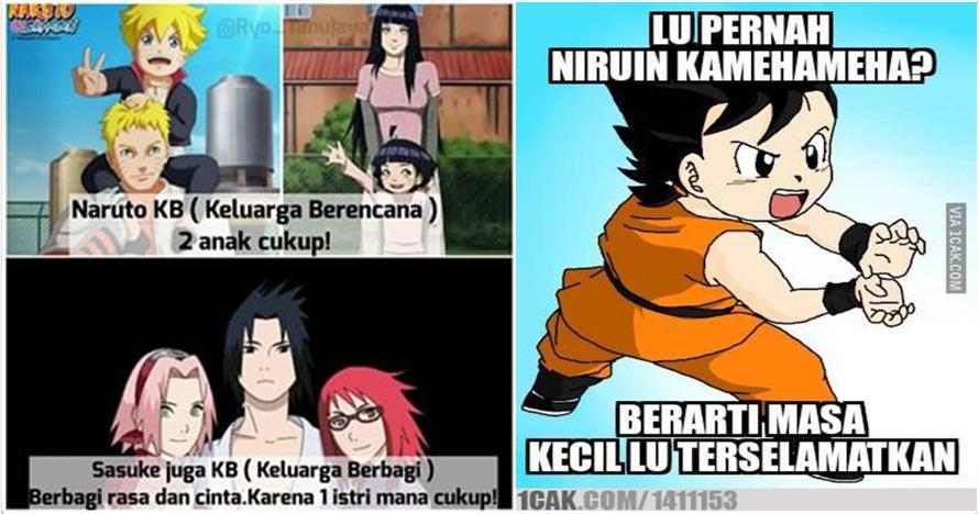 20 Meme lucu ini cuma dipahami anak anime, bikin cengar-cengir deh..