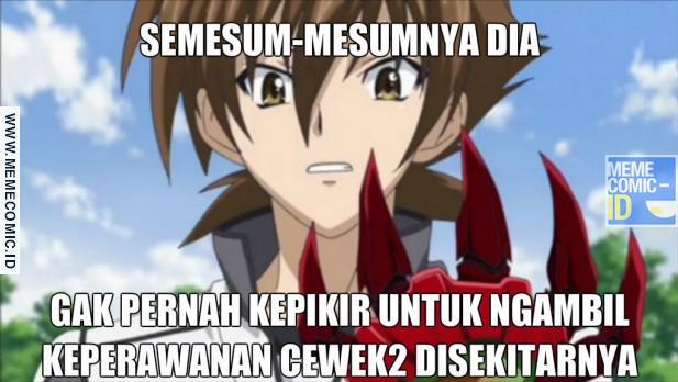 Meme Lucu Anime  Brilio Net