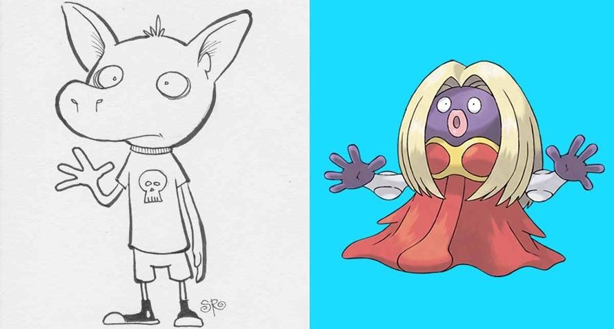 Begini nih, kalau orang nggak paham Pokemon tapi coba menggambarnya