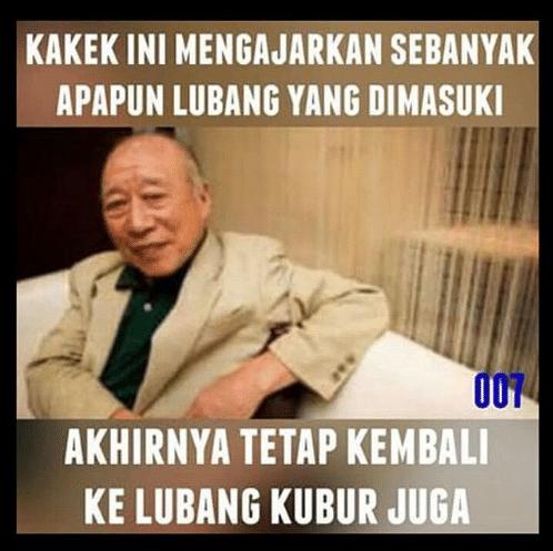 Meme Kakek Legend  Brilio Net