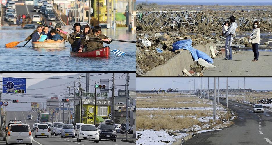 15 Foto recovery Jepang pasca-tsunami bukti 'badai pasti berlalu'