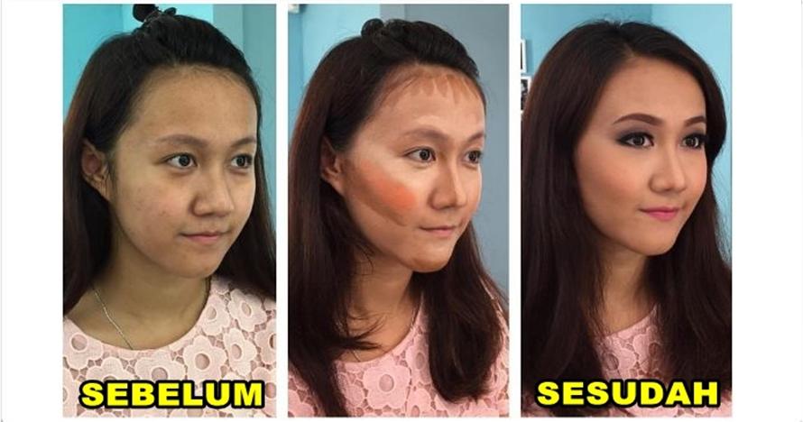 Bagaikan sulap, ini 15 foto perbandingan sebelum & sesudah makeup