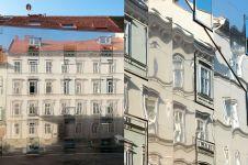 12 Foto gedung berdinding kaca ini punya efek meleleh, kok bisa?