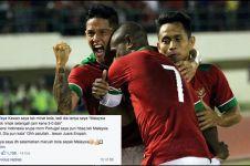8 Komentar lucu fans Malaysia usai timnasnya kalah dari Indonesia