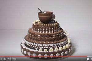 Kue tart ini bikin kamu melongo saat diputar, kenapa ya?