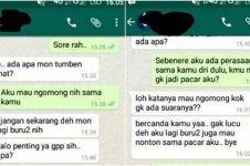 Obrolan WhatsApp ini buktikan sakit tapi tak berdarah itu memang ada
