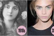 11 Evolusi makeup mata tahun 1900-2010 ini bakal bikin kamu terpukau