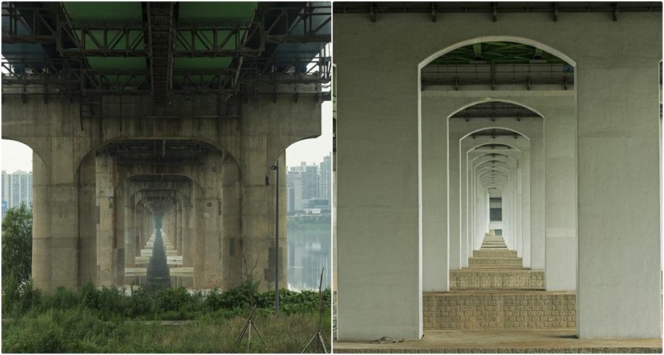 12 Jembatan super simetris di Korea ini bikin matamu susah berkedip