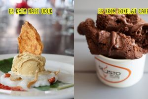 10 Es krim ini cuma kamu temukan di Indonesia, ada rasa nasi uduk lho