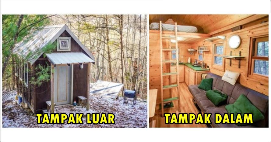 7 Rumah ini mungkin lebih kecil dari kamarmu tapi dalamnya nyaman abis