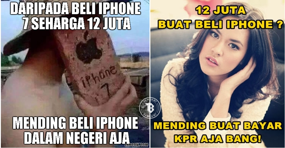 11 Meme kocak sindir mahalnya iPhone 7, kamu ngebet beli?