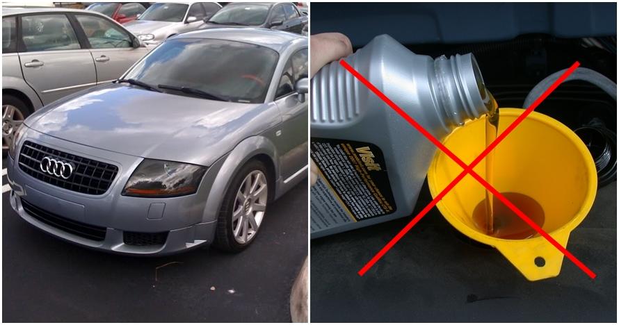 Ini kondisi mesin mobil yang tak ganti oli selama 135 ribu kilometer