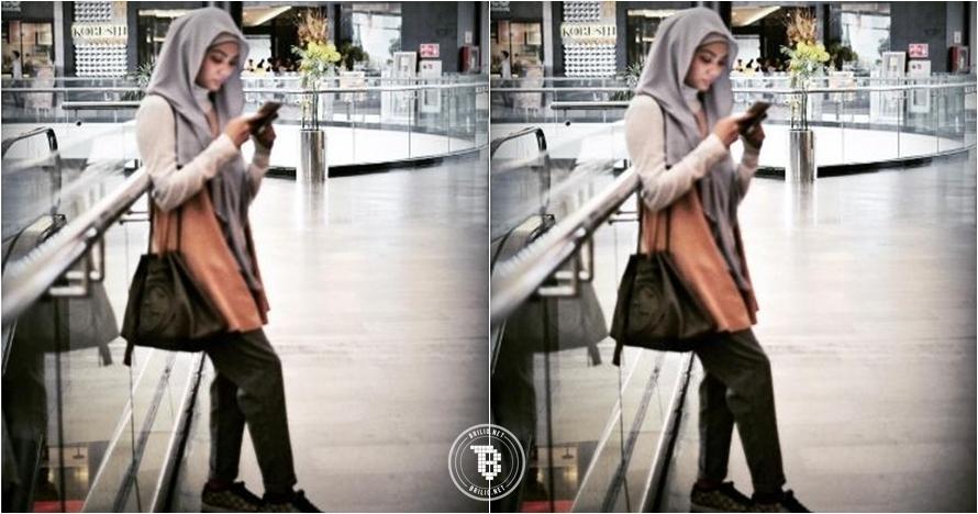 Tampil dengan hijab, Rina Nose disebut haters 'gimmick recehan'