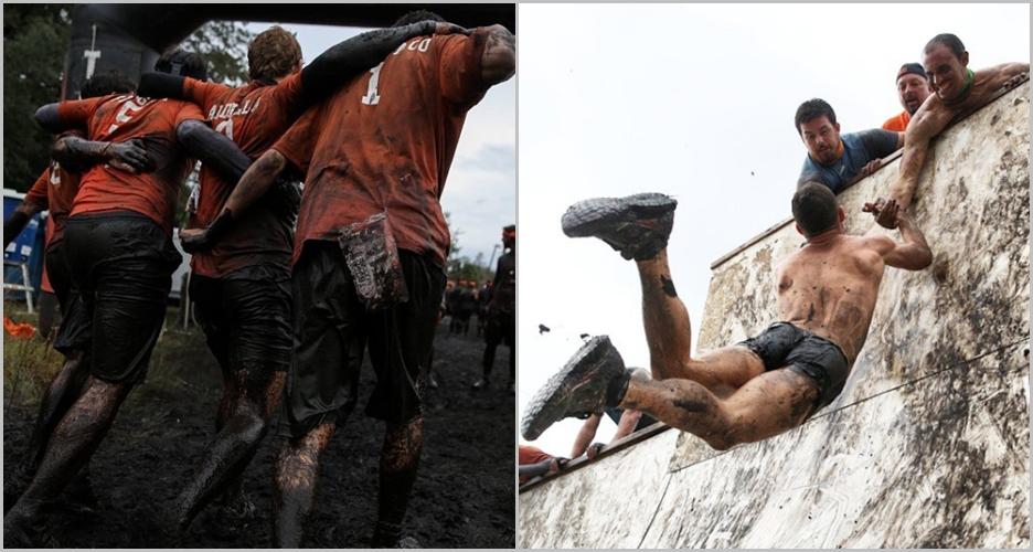 10 Foto di event Tough Mudder ini buktikan betapa pentingnya teamwork