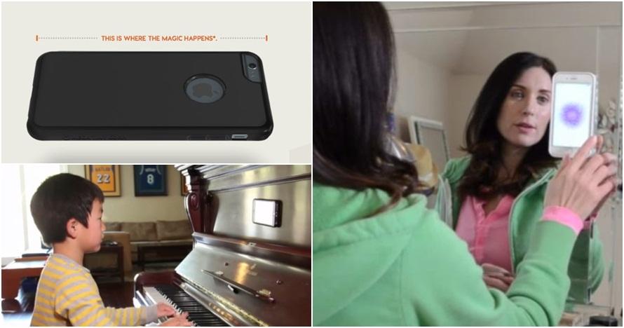 Casing ponsel antigravitasi ini bikin gadgetmu bisa nempel dimana saja