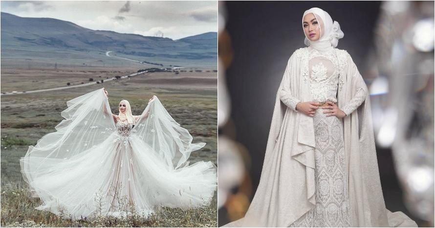 Buat Yang Berhijab 12 Model Gaun Pengantin Ini Bisa Jadi Inspira