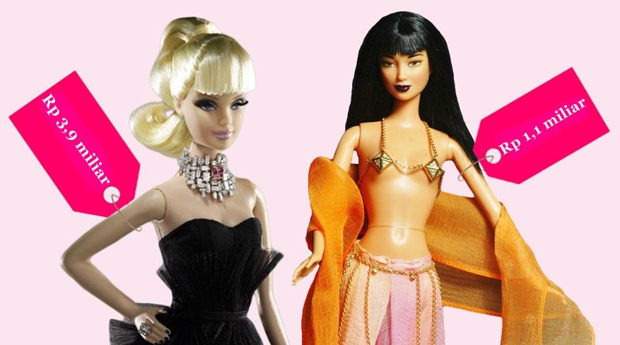 9 Barbie cantik ini termahal sejagat, ada yang harganya Rp 3,9 miliar